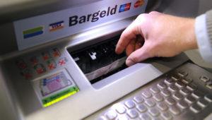 Получить наличные в банкомате