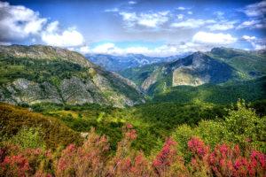 Разнообразный ландшафт Испании