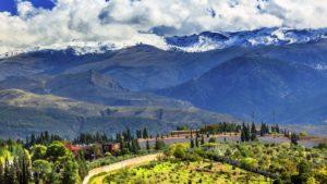 Горы Сьерра Невада в провинции Гранада
