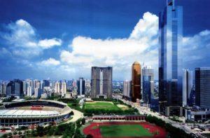 Третий по значимости город Китая после Пекина и Шанхая