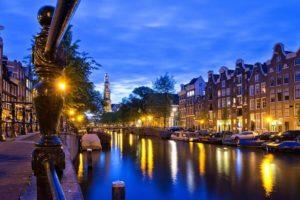 Ночная жизнь Амстердама