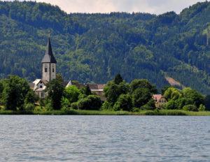 Третье по величине озеро в Каринтии