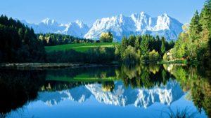 Живописные Австрийские озера