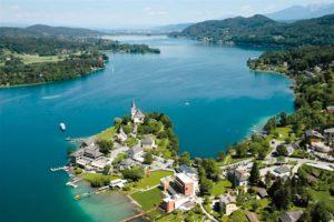 Самое большое и живописное озеро Каринтии