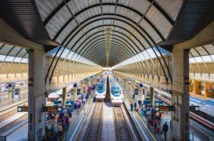 Железнодорожный вокзал в Севилье
