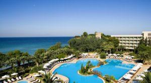 Отель Sani Beach