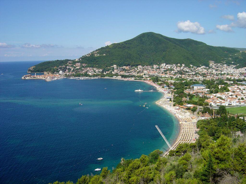 черногория пляжи фото будвы