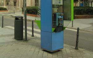 Телефонные автоматы в Мадриде