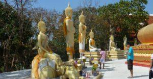 Паттайя. Храм Ват Пхра Яй . Маленькие Будды