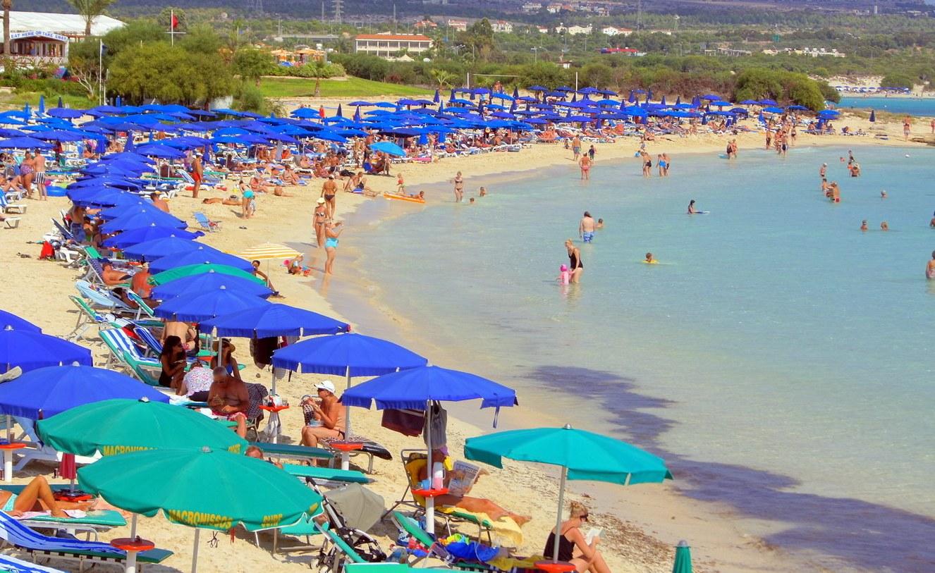 Пляж Макронисос Айя-Напа