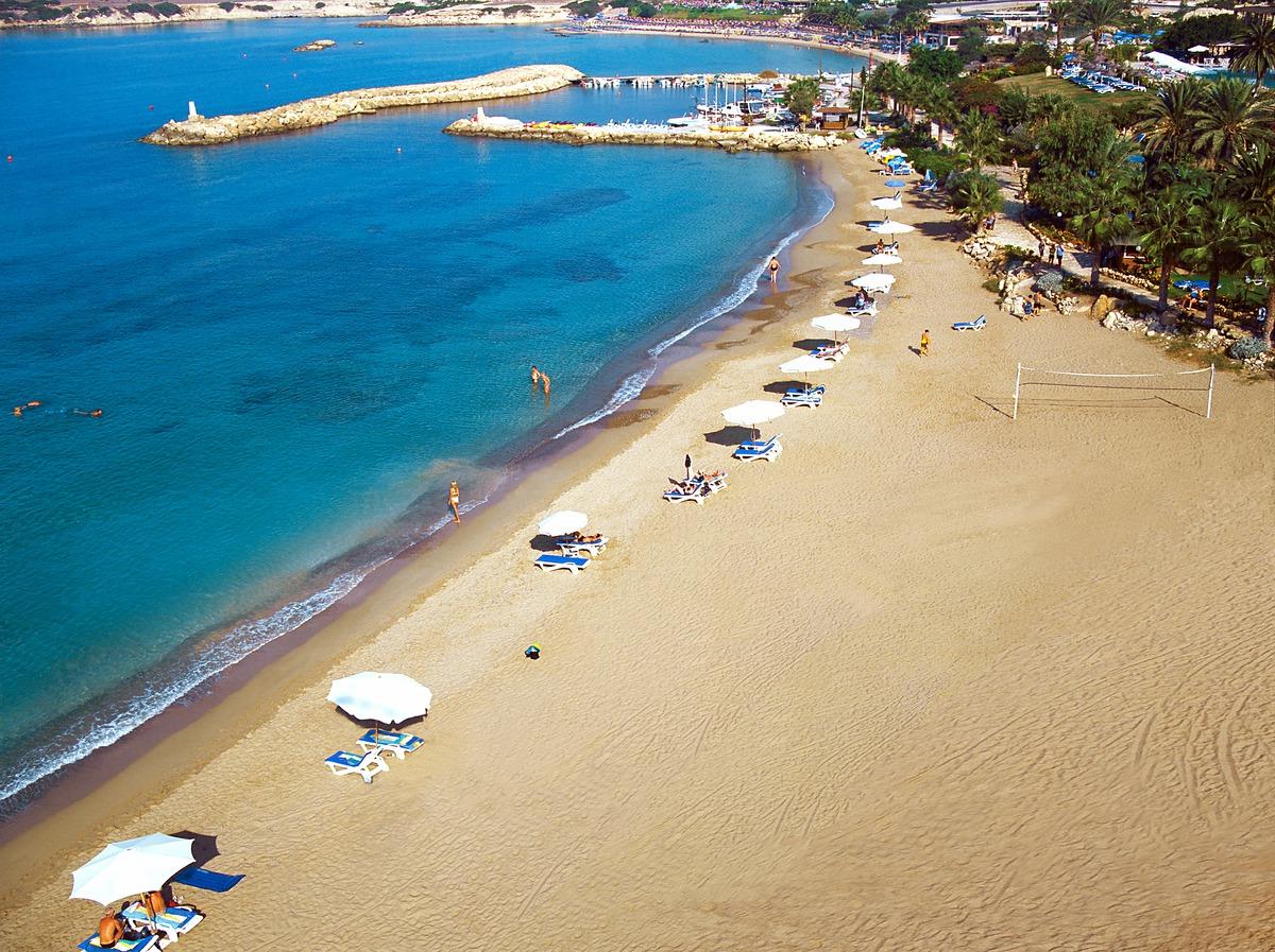 Великолепные песчаные пляжи Пафоса