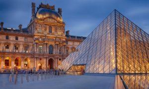В Лувре осредоточены главные сокровища французской нации