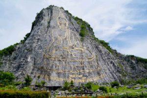 Паттайя. Гора Кхао Чи Чан. Изображение Будды