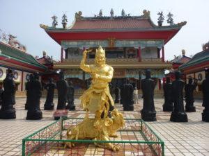 Паттайя. Храмовый комплекс Ват Ян. Китайский музей в стиле китайской религиозной архитектуры
