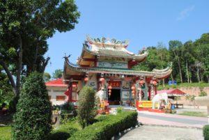 Китайский храм Chao Po Koh Chang на острове Ко Чанг