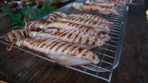 Качество кальмаров и креветок, выловленных у берегов Банг Бао, выше всяких похвал, поэтому практически весь улов отправляется на экспорт.