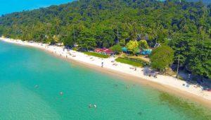 На острове Чанг обустроены шикарные пляжи.