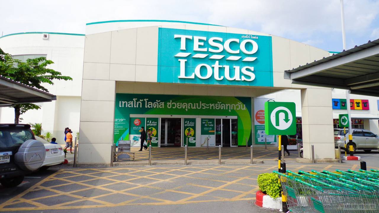 tesco lotus in thailand