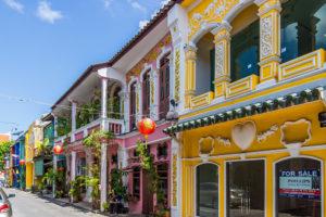 В южном округе Муанг находится столица острова Пхукет-таун