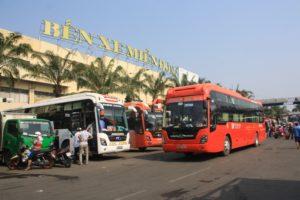 Автобусные билеты гораздо дешевле авиабилетов: переезд из Хошимина в Ханой обойдется примерно в 450 000 донг.