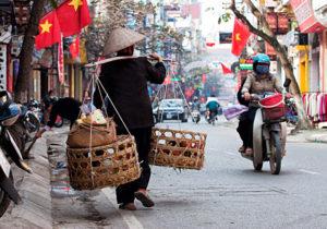 Столица Вьетнама – город Ханой, расположенный в северной части государства.