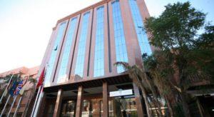Здание отеля Almaz