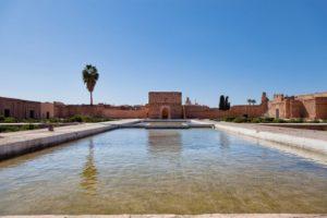 Внутренний двор дворца Эль Бади
