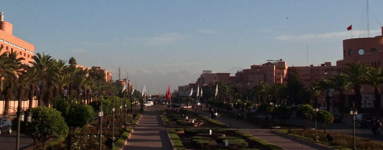 Отели в Марракеш — район Гелиз
