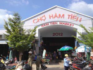 Самым большим рынком в Муйне считается рынок Рынок Ham tien market .