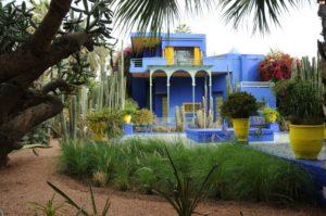 Вилла в марокканском стиле в саду Мажлрель