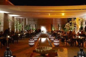 Ресторан в отеле La Mamounia