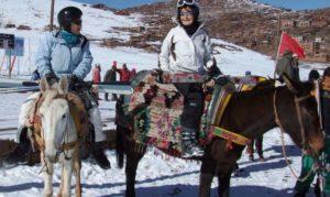 Местный колорит на горнолыжныом курорте Укаймеден