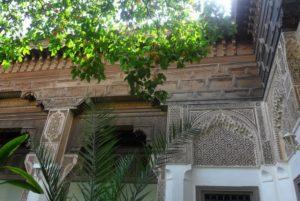 В старом городе, вдоль северного края района Mellah (еврейский квартал) расположен еще один потрясающий по своей красоте дворец – дворец Бахия (Palais de la Bahia)