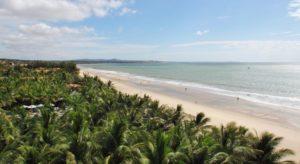 Пляж Бай Ранг вид из отеля Unique Mui Ne Resort and Spa