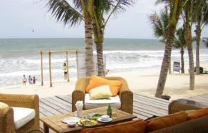 Самые популярные среди наших соотечественников отели, расположены в районе Центрального пляжа Бай Ранг.