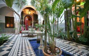 Внутренний двор Riad Dar Mouassine
