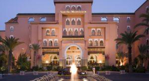 Отель Sofitel Marrakech сочетает в себе традиционное марокканское гостеприимство и французскую элегантность