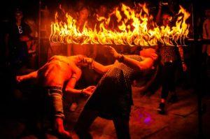 Пляжная дискотека и фаер шоу на Пхи-Пхи Дон