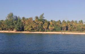 Недалеко от отеля Coco Palm Beach Resort & Spa находится общественный пляж, его можно найти, следуя указателям.