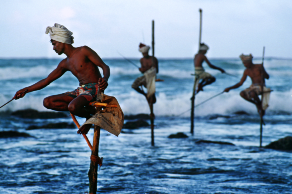 Рыбаки деревни Ахангама