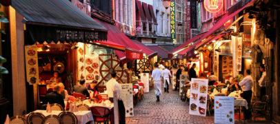 Кафе и закусочные в Париже до 30 евро