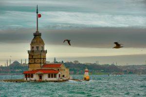 Девичья башня в азиатской части Стамбула