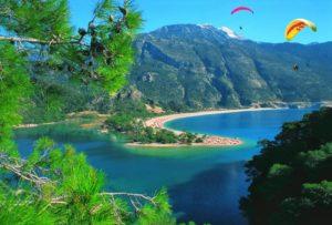 Роскошные пляжи Олюдениза