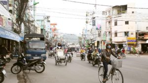 На улицах Нячанга