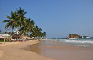 Мирисса - один из живописных пляжей Шри-Ланки