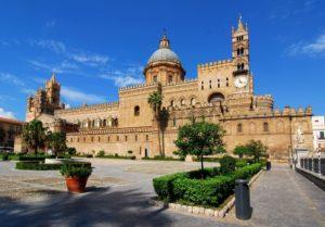 Сицилия. Кафедральный собор в Палермо.